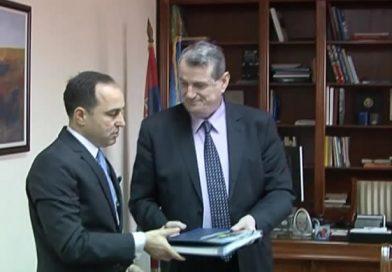 Turksi ambassador posetio DUNP