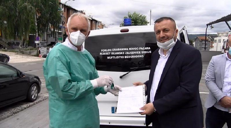 Rijaset IZ Srbije donirao sanitetsko vozilo Domu zdravlja