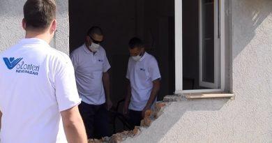 """Volonteri pomažu u izgradnji """"tople veze"""" u Opštoj bolnici"""