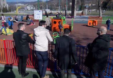 Otvoren EU parkić na rekreacionom centru