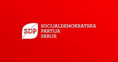 SDP Srbije na pripremnom sastanku o međustranačkom dijalogu