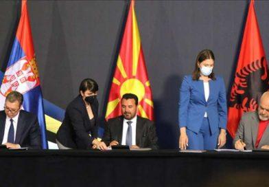 Zaev, Rama i Vučić potpisali sporazume za lakše kretanje roba i radne snage