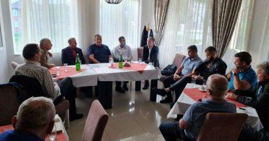 Hasanović i funkcioneri SDP razgovarali sa mještanima više sela